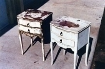 Phillips Restoration Services Refinished Night Stands